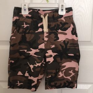 The Children's Place Boys Camouflaged Shorts EUC